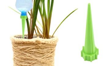 Polievanie kvetov a rastlín Zavlažovací systém pre kvetináče