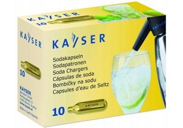 Vodné kazety sodík 10 CO2 ks pre FV Saturator
