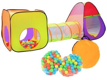 Stanový tunel Iglo pre deti + loptičky loptičky