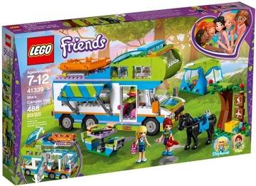 Lego priatelia 41339 Camper Kamper Mii Auto Camping