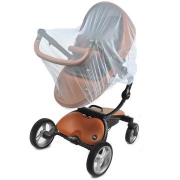 Univerzálna moskytiéra pre vozík s gumou