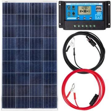 Solárna panelová batéria 180W 12V Regulátor