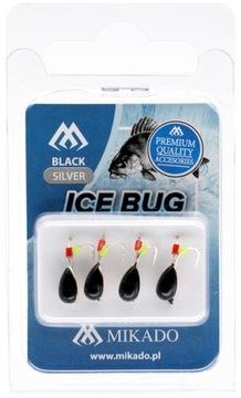 Mormaszek Wolframowa Mikado Ice Bug Black