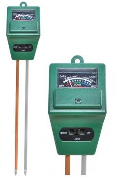 Merač kyselín Pôdny pH meter na meranie zemného svetla