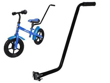 Rukoväť vodiacej tyče na posunovač bicykla