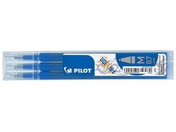 3 pilotné frixové kazety modré