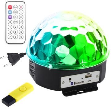 Disco Kula Ball Bluetooth Disco + Pilot