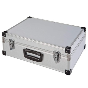 Veľký hliníkový kufr 46x33x16 DJ prípad vybavenie