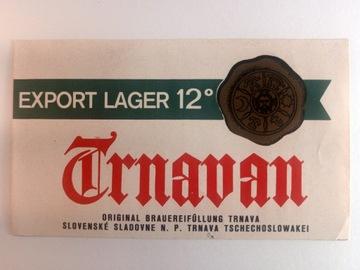 Štítok Trnavan Beer