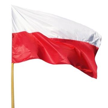 Poľsko Vlajka 90 x 60 cm! Poľské vlajky