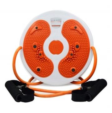 Twister rotačný pre cvičenia s odkazmi na nohy masér