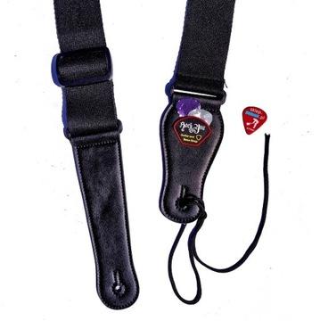 Pásový guitarový pás - mäkký - široký - žiadne balenie