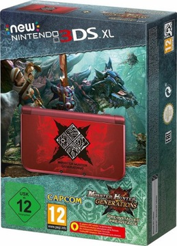 Nový Nintendo 3DS XL Monster Hunter Ed + Game + Objednať