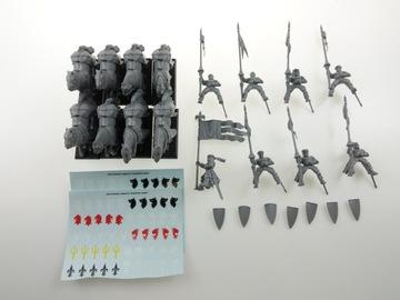 Warhammer Knights z Bretonnia set 8 obrázkov