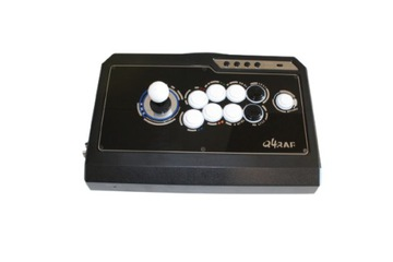 QANBA Q4 Raf Arcade Stick Black, joystick