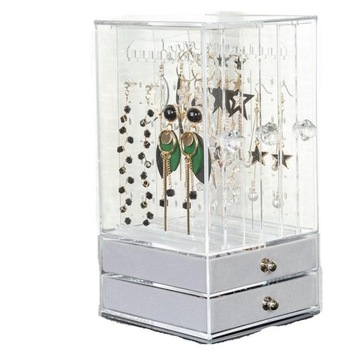 Stand organizátor pre šperky, náušnice, zásuvky