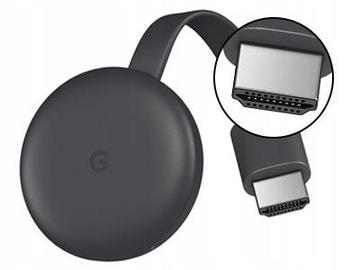 Google Chromecast 3 Smart TV Full HD Stream Wi-Fi