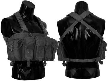 Dominator Vest Commando hrudník taktická čierna