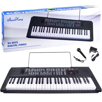Digitálne klavírne Orgány 54 Kľúče v0119