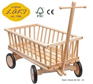 Certifikovaný drevený vozík WZ24S-04