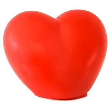 Srdce svietiace LED podsvietené darčekové valentína