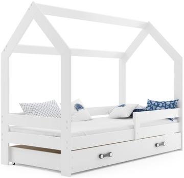 Detská posteľ, Domček, rám, matrac od INTERBEDS
