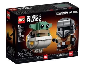 LEGO Star Wars BH Mandalorian a dieťa