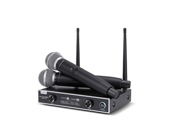 Bezdrôtové mikrofóny 2 kanál SHOPDER