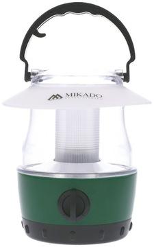Mikado BivouAc lampa LED kempovanie baterky