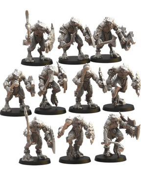 Ezocamatl jednotka / Saurus bojovníci - stratené kráľovstvo