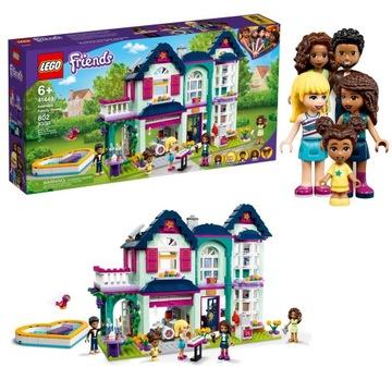 Lego - priatelia - Rodinný dom Andrei (41449)
