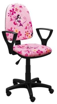Mládežná otočná stolná stolička BRED LADY