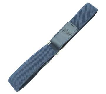 Nohavičný pás, modrý, nastavenie suchého zipsu