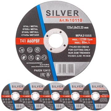 Shield Shield 125x1,0 mm pre rezanie kovu v oceli