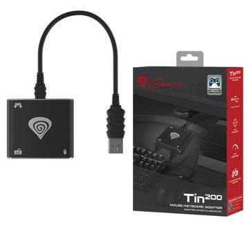 Genesis Tin 200 PS3 PS4 X Klávesnica Adaptér