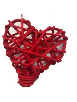 Srdce srdce červené rata prívesky srdce srdce