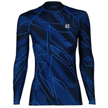 Dámske tréningové tričko Dámske tieňové modré