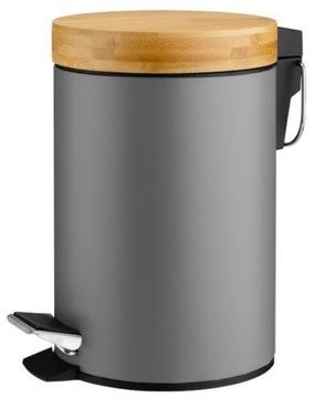 Kúpeľňový kôš Dustbin pre kúpeľňu 3L