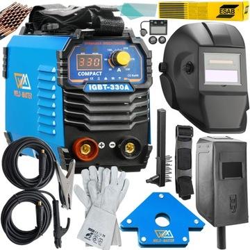 Weld Master 330A TIG + Inverter Welder + Set