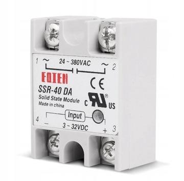 Semiconductor Relay Elektronické SSR 40A