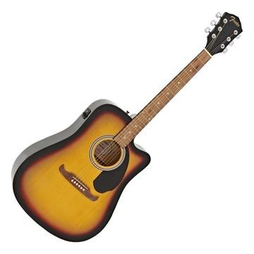 Fender FA-125CE SB Elektro-akustická gitara 24h