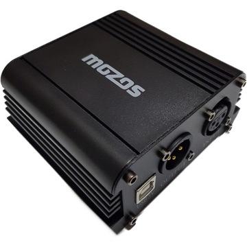 USB PHANTOM + 48V Napájanie pre XLR mikrofóny