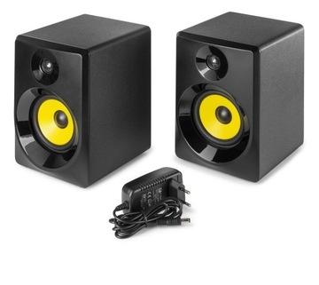 Štúdiové monitory Active 100W 2ks Vonyx Black