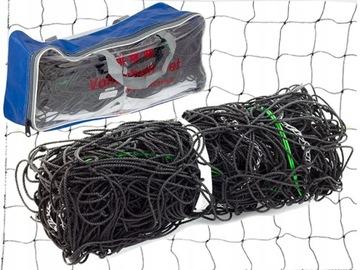 Volejbalová mriežka 9.5MX1M Oceľový kábel + vrecko