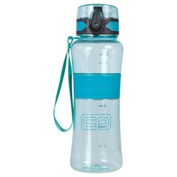 Fľaša na vodu TRITAN 550ml BPA ZADARMO MODRÁ