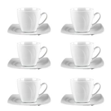 Oslava Lubiana Set 6 šálky s taniermi