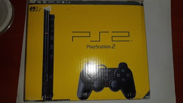 Sony Playstation 2 PS2 SCPH 90004 SET + HRY