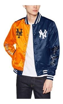 Baseball bunda New York Yankees Mets Majesic L