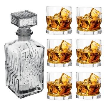 Súprava pre ambíciu whisky + Carafe 7el