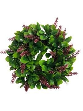 Dekoratívny veniec Dekoratívne Zelená čelenka 26 cm